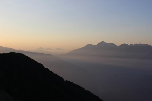 Для тех, чье сердце покорили горы. горы, Аибга, красота, дух захватывает, длиннопост