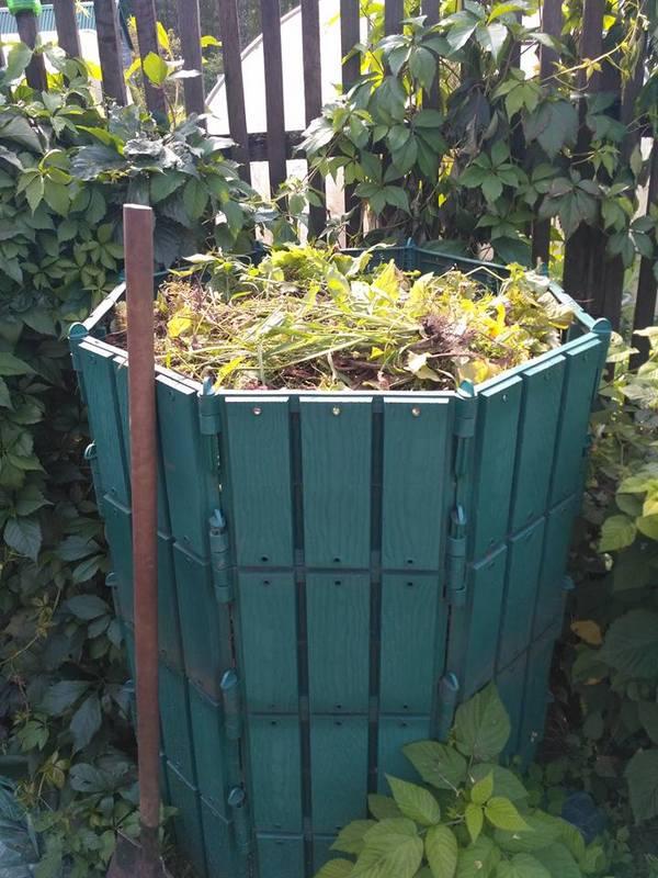 КомПостоМан компост, дача, дачники, сорняки, огород, садовод, сад, компостник, длиннопост