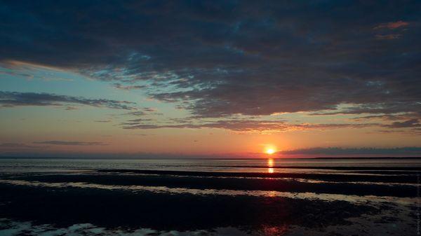 Белое море, Ягры Северодвинск, Архангельская область, море, солнце море пляж, фотография, закат, длиннопост