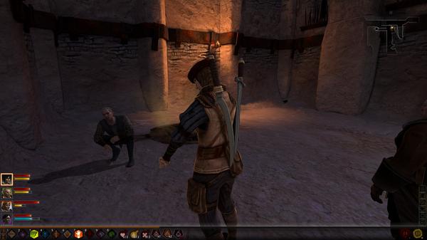 Однажды в Нижнем городе... Dragon Age 2, скриншот, гопники