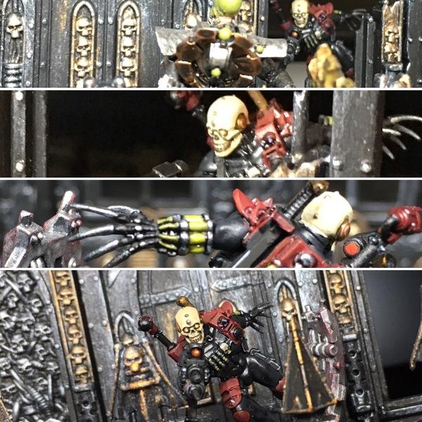 [НЕ] Тссс... Wh miniatures, Warhammer 40k, Warhammer, Eversor, Ассасин, Обтягивающее, Длиннопост