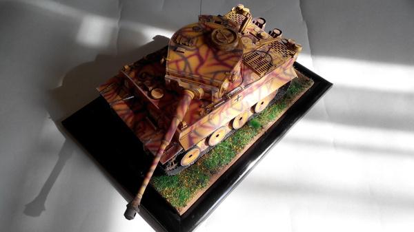 Сборка Tiger I от Халинского, часть 6. Финиш. модель, моделизм, танки, тигр, длиннопост