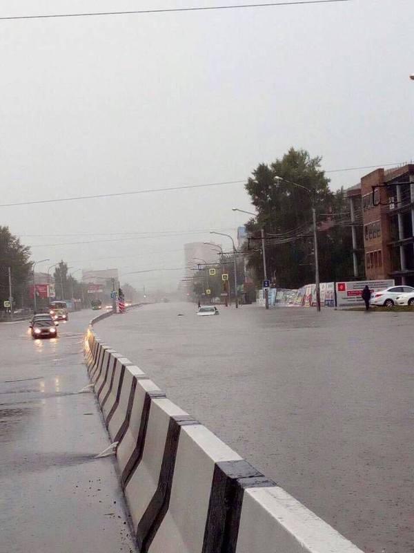 Дамба, спасшая город красноярск, потоп в красноярске, режимчс, красноярскпотоп, потоп