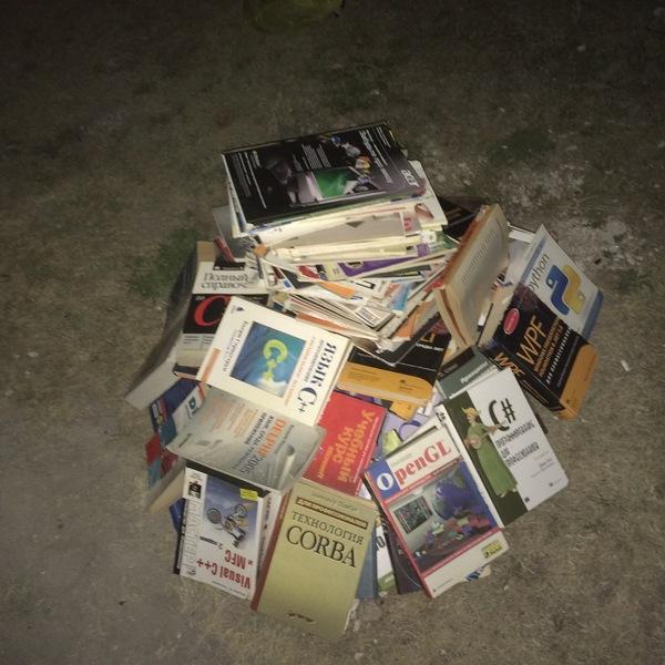 Burn it with fire! книги, огонь, костер, программирование, длиннопост