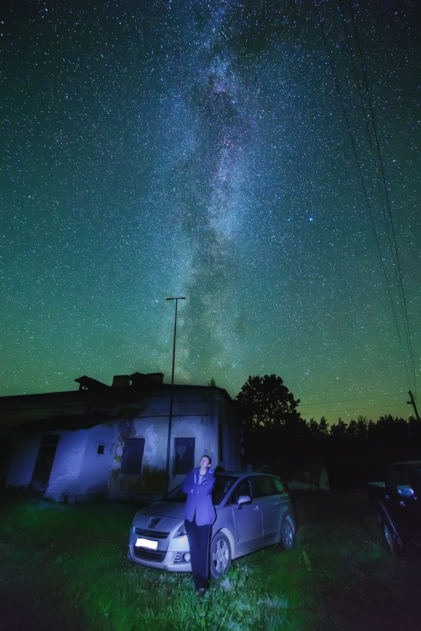 Звёздное небо и космос в картинках - Страница 5 1503346880124361970