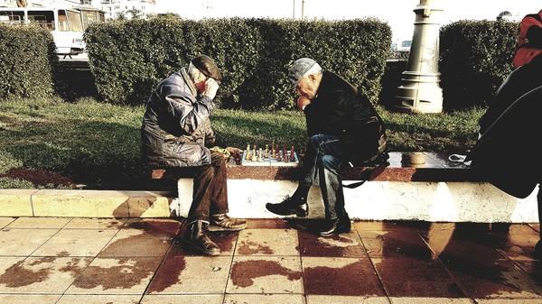 Любимое место шахматистов в Екатеринбурге Шахматы, Дед, Екатеринбург