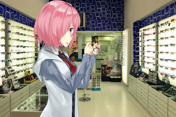 Машу Кириелайт #9 Fate Grand Order, Mashu Kyrielite, Shielder, аниме, Anime Art