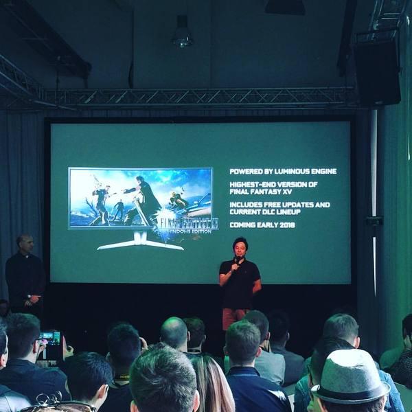 Final Fantasy XV выйдет на ПК Игры, JRPG, Final fantasy, Анонс, Трейлер, Видео