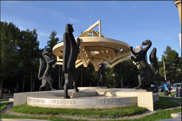 Ониждети! Или как у Коли бомбануло Ониждети, Бомбануло, Новосибирск, Центр города, Монумент, Длиннопост