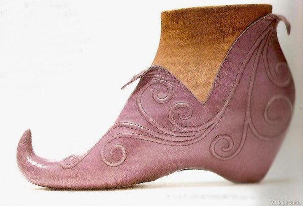 Обувь от Стивена Арпада, 1939 история моды, 1930-е, обувь, туфли, мода, длиннопост