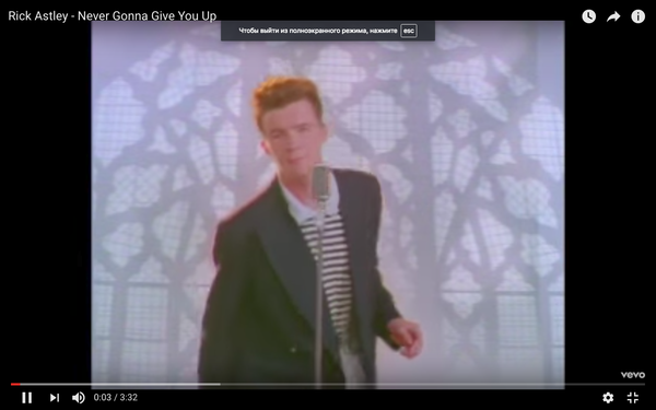Rick Astley Never Gonna Give You Up Video Youtube - 640×368