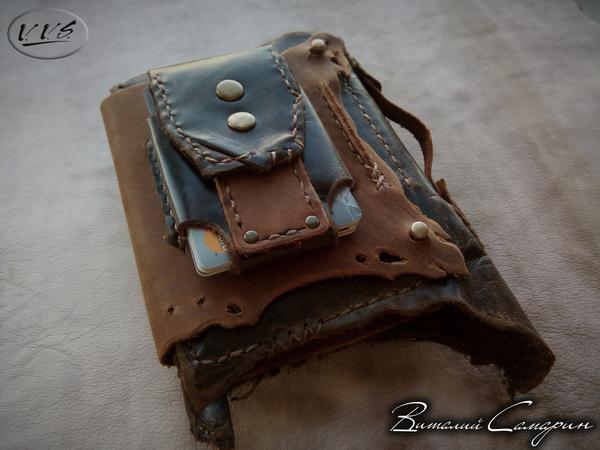 Мужской кошелек Царь - зверей СамаринVVS, кошелек, ручная работа, подарок, стиль, мода, Мужчина, длиннопост