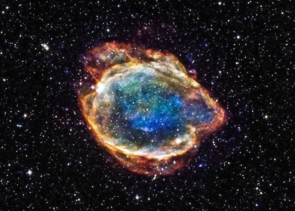 Обнаружена пережившая взрыв сверхновой звезда наука, новости, космос, астрономия, белый карлик