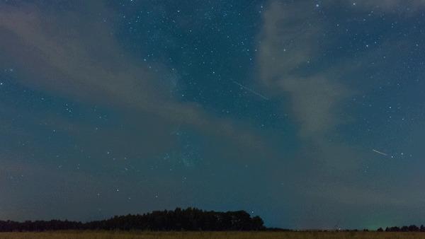 Небо и Земля #38 Гифка, Таймлапс, Залипалка, Фотография, Космос