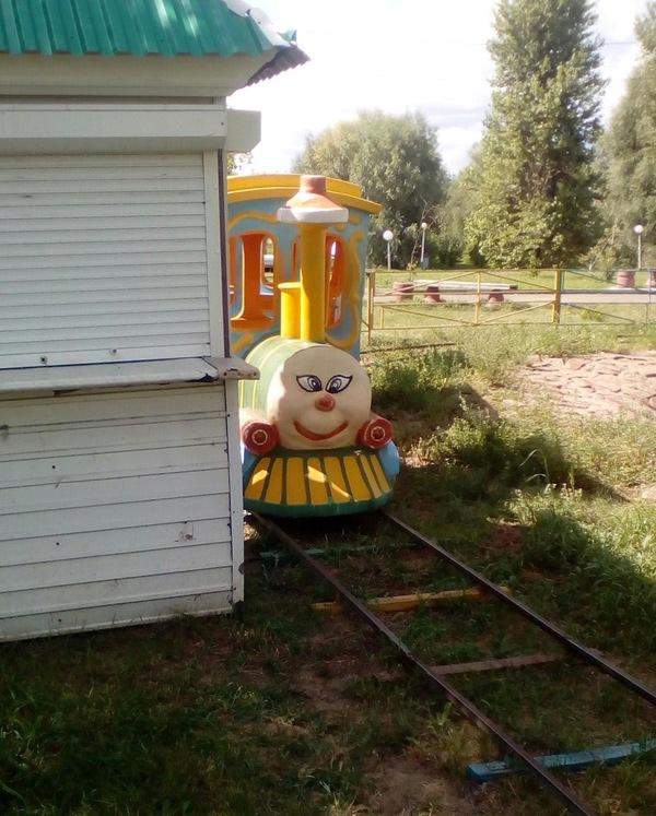 Омский паровозик Томас
