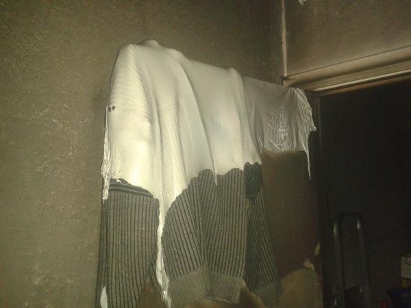 Пожар на 8 марта или как легко спалить квартиру с помощью антенны пожар, пожарная безопасность, бывает, длиннопост