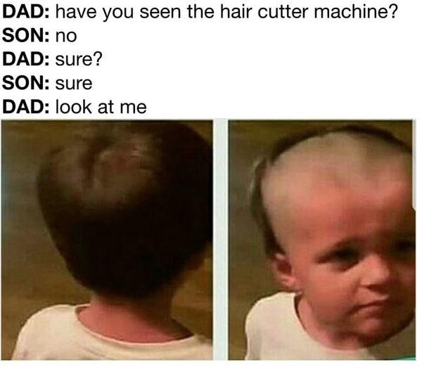 Ты не видел машинку для стрижки волос?