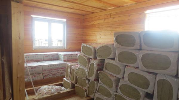 Продолжаю строить дом Строительство, дом, брус, окно, утепление, длиннопост, Иркутск