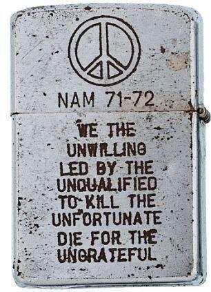 Зажигалка с Вьетнамской войны Война, Простая истина, Война во вьетнаме, Zippo