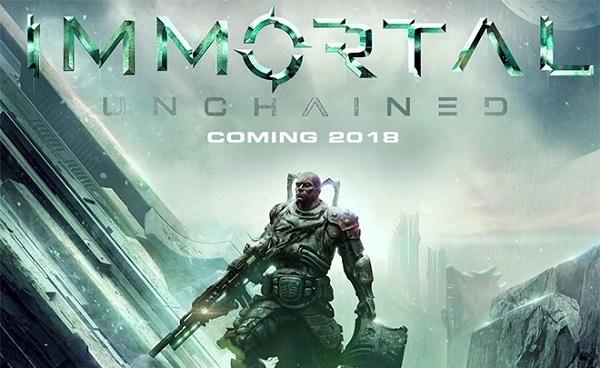 Очередной вдохновленец серией Soul - Immortal: Unchained Компьютерные игры, анонс, dark souls, компьютер, Sony PS4, XBOX ONE, видео