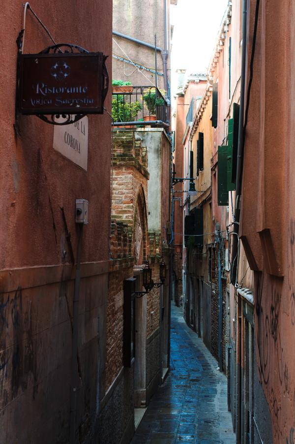 Венецианские переулки путешествия, фотография, венеция