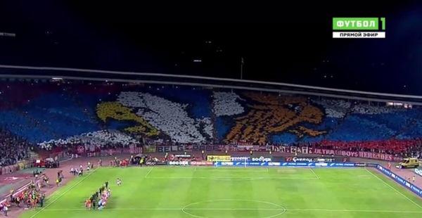Сербы как всегда! Футбол, Лига европы, Сербия и Россия, Респект