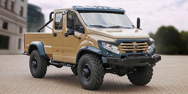 «ГАЗ» разработал Внедорожник, Фотография, Экстремальная езда, Автогаз