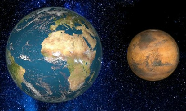 mars compared to earth size - 800×500