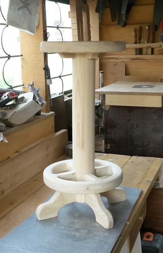 Запилил я тут простой барный стул (простые вещи) или эксперименты в деревообработке. столярка, простые вещи, рукоделие с процессом, длиннопост