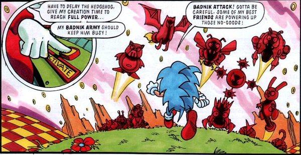 Знакомство с комиксами: Ёж, Ниндзя и драгоценный топор Комиксы, Sega, Ежик соник, Golden axe, Ниндзя, Комиксы-Канон, Не всегда, Длиннопост