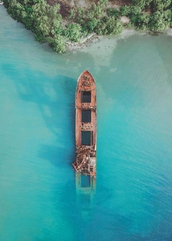Кораблекрушение на карибах