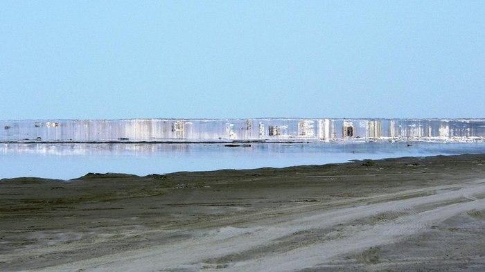 Мираж на Карском море. 72-ая параллель. ( Карскоеморе, Мираж