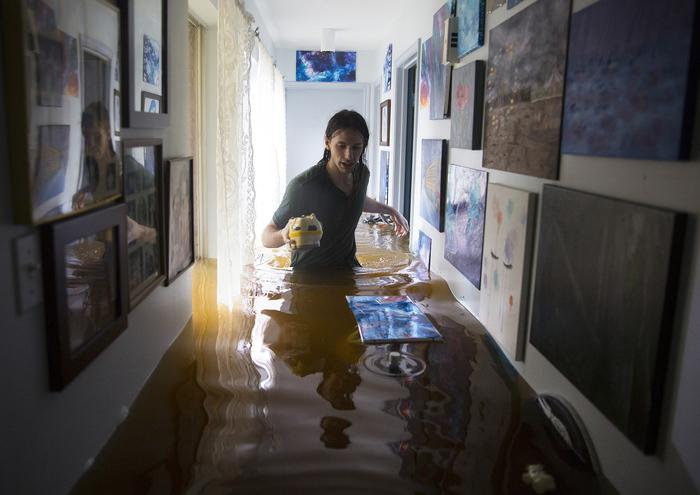 """Несколько фотографий, последствия урагана """"Харви"""" и тропического шторма Харви, Ураган, Хьюстон, Фотография, Длиннопост"""