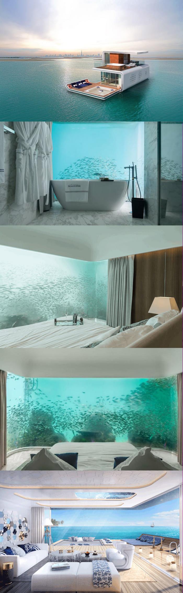 дубай дома под водой