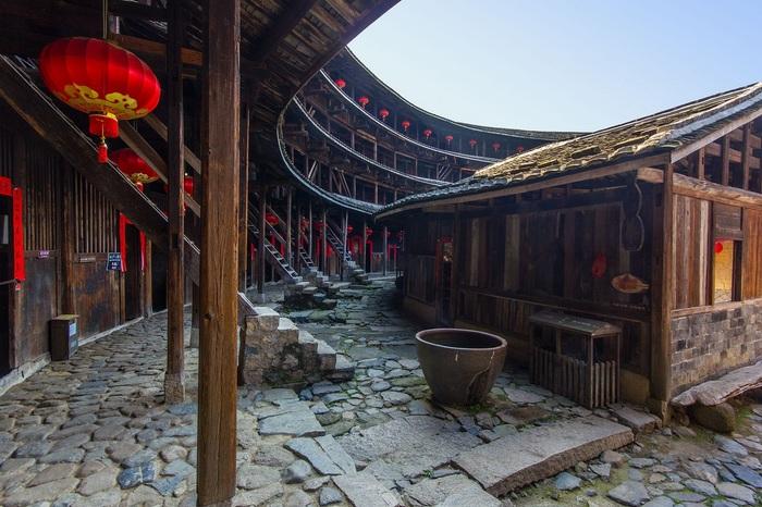"""Китайские крепости """"тулоу"""" Тулоу, Китай, Архитектура, Китайская архитектура, Длиннопост"""