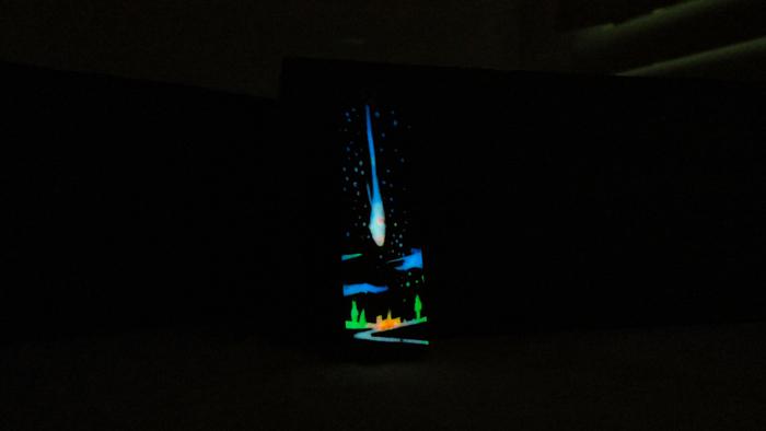 Пробы в смешивании люминофора Люминофор, Резьба по дереву, Светящиеся амулеты, Космос, Рукоделие без процесса, Комета, Антенна, Длиннопост