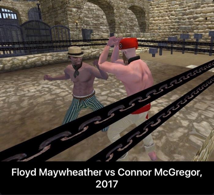 Бой века (запоздало) Флойд Мейвезер, Конор МакГрегор, Бокс, Mount and Blade, UFC, Reddit