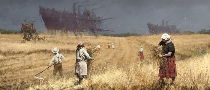 Подборка работ Якуба Розальски в преддверии Iron Harvest Якуб Розальски, Iron Harvest, Длиннопост