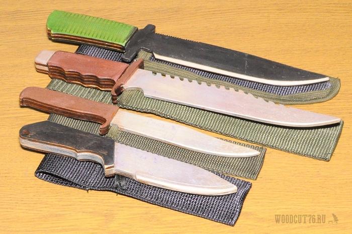 Снова деревянные ножи Нож, Фанера, Не игрушка, Становление юного жопорука, Длиннопост