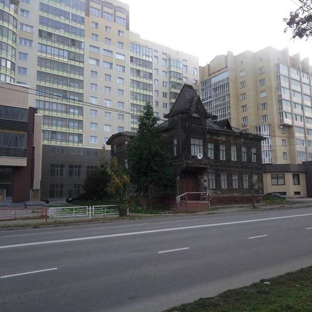 Старичооок Архангельск, Старый дом
