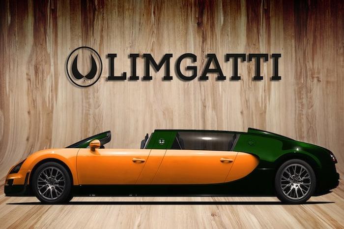 Суперкары в лимузиновых костюмах Авто, АвтоВАЗ, Lamborghini, Ferrari, Delorean, Mazda, Лимузин, Видео, Длиннопост