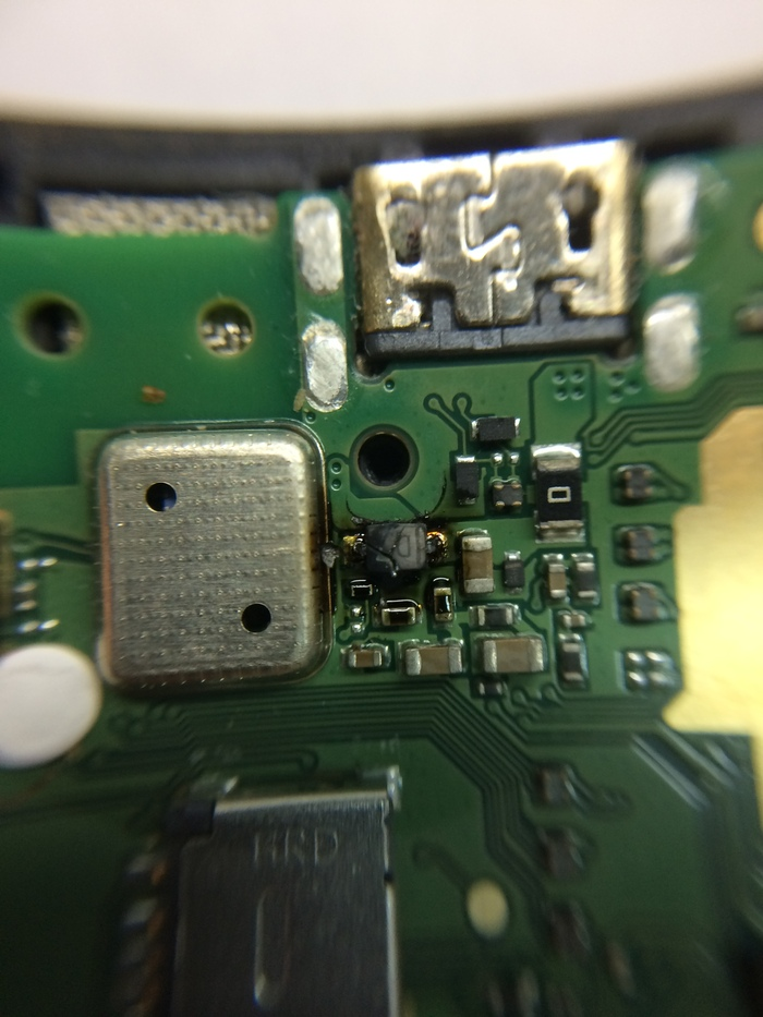 Ремонт Alcatel 5010d Ремонтцифровойтехники, Ремонт электроники, Лига ремонтеров, Ремонт техники, Длиннопост, Простой ремонт