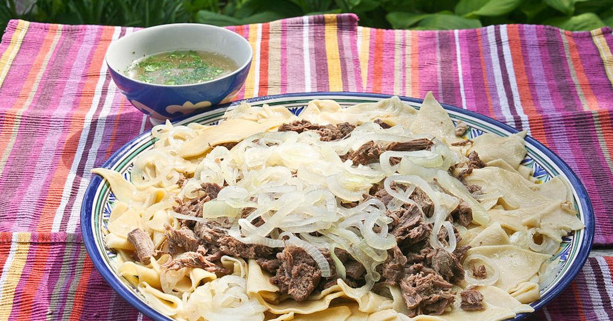 Казахские блюда рецепты с фото