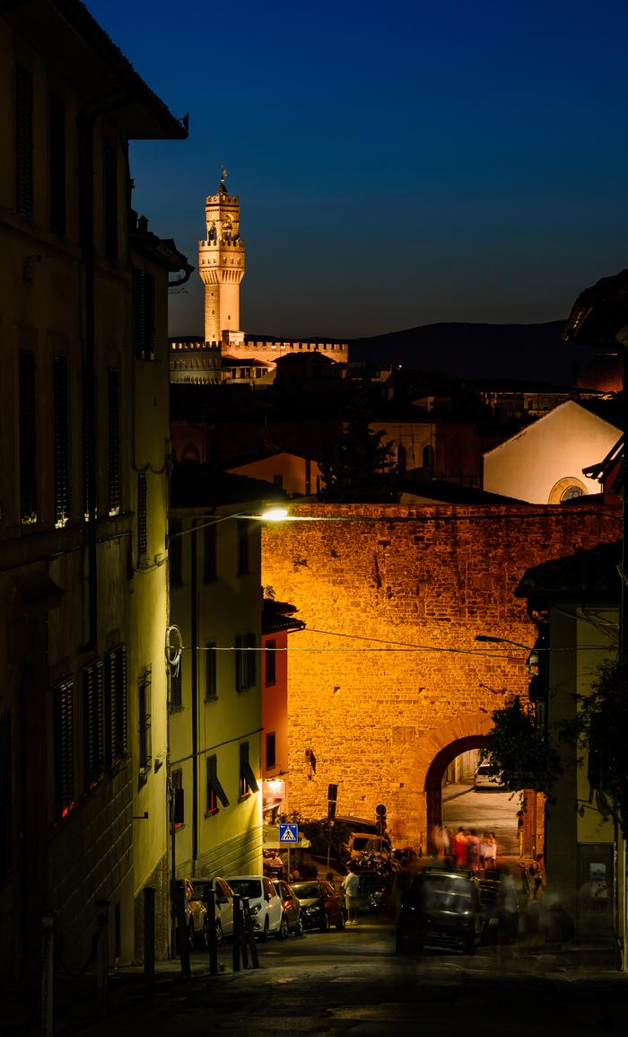 Вечерне-ночная Флоренция Фотография, Италия, Nikon d3100, Флоренция, Длиннопост