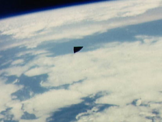 «НЛО» на орбитальных снимках NASA NASA, НЛО