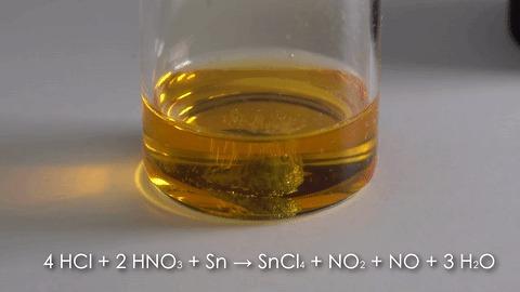 Олово в гифках Химия, Лига химиков, Гифка, Олово, Металл, Эксперимент, Длиннопост