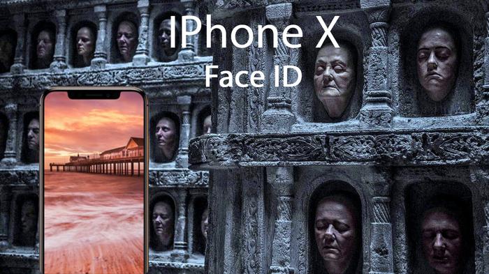 Чтобы взломать новый IPhone X придётся стать безликим