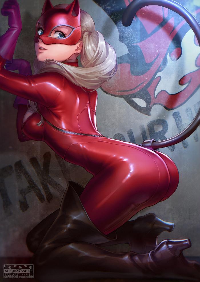 Anime Art №1141 Аниме, Anime Art, Persona, Persona 5, Ann Takamaki