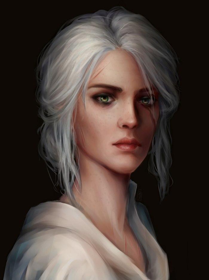 Мадамы из Ведьмака Ведьмак, Ведьмак арт, The Witcher 3:Wild Hunt, Ведьмак 2, Йеннифер, Трисс Меригольд, Цири, Длиннопост