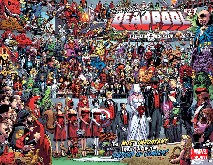 Свадьба Дедпула и Рекорд Гиннеса. Marvel, Комиксы, Книга рекордов Гиннесса